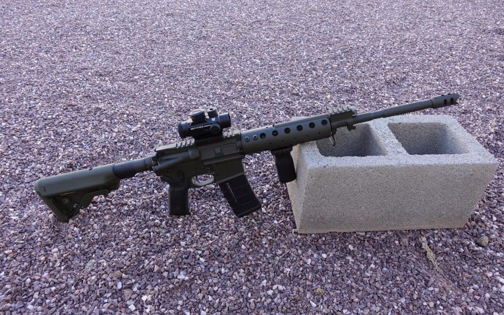 Dave Lauck: Carbine in OD Green
