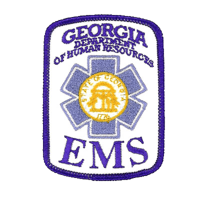 Georgia Department of Human Resources EMS Patch
