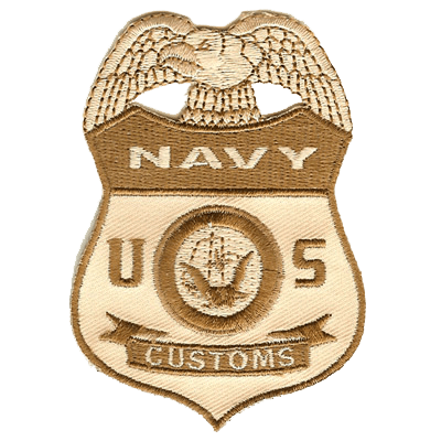 Navy Customs Patch