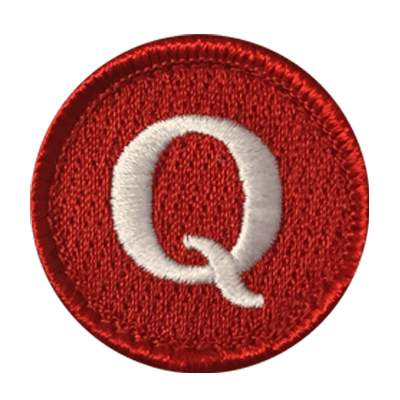 Symbol Merit Badge Sample 3