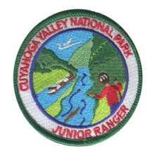 Cuyahoga Valley National Park Junior Ranger Patch