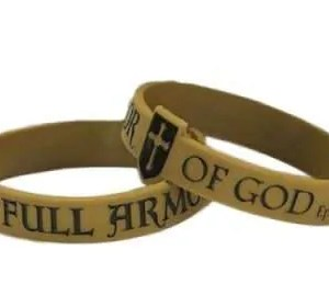 Armour Of God Silicone Bracelet