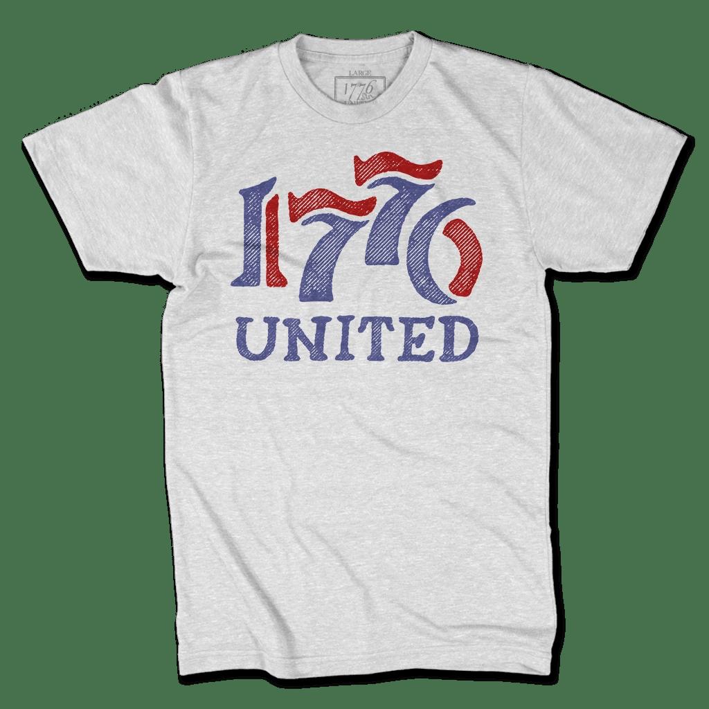 1776 United T-Shirt American Patriots Apparel