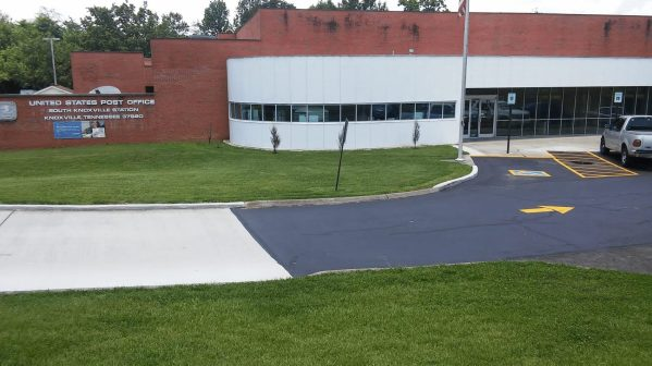USPO Commercial Sealcoating Patching and Striping