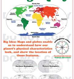 Worksheet On Globes And Maps   Printable Worksheets and Activities for  Teachers [ 3348 x 2484 Pixel ]