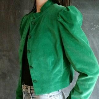 greenery velvet