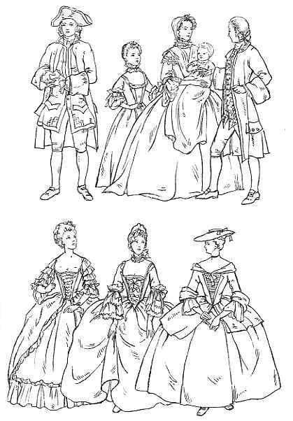 Clothing 1735 1770