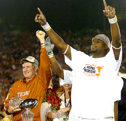 American Rhetoric Mack Brown  Vince Young  Remarks on Winning the 2006 Rose Bowl and the NCAA