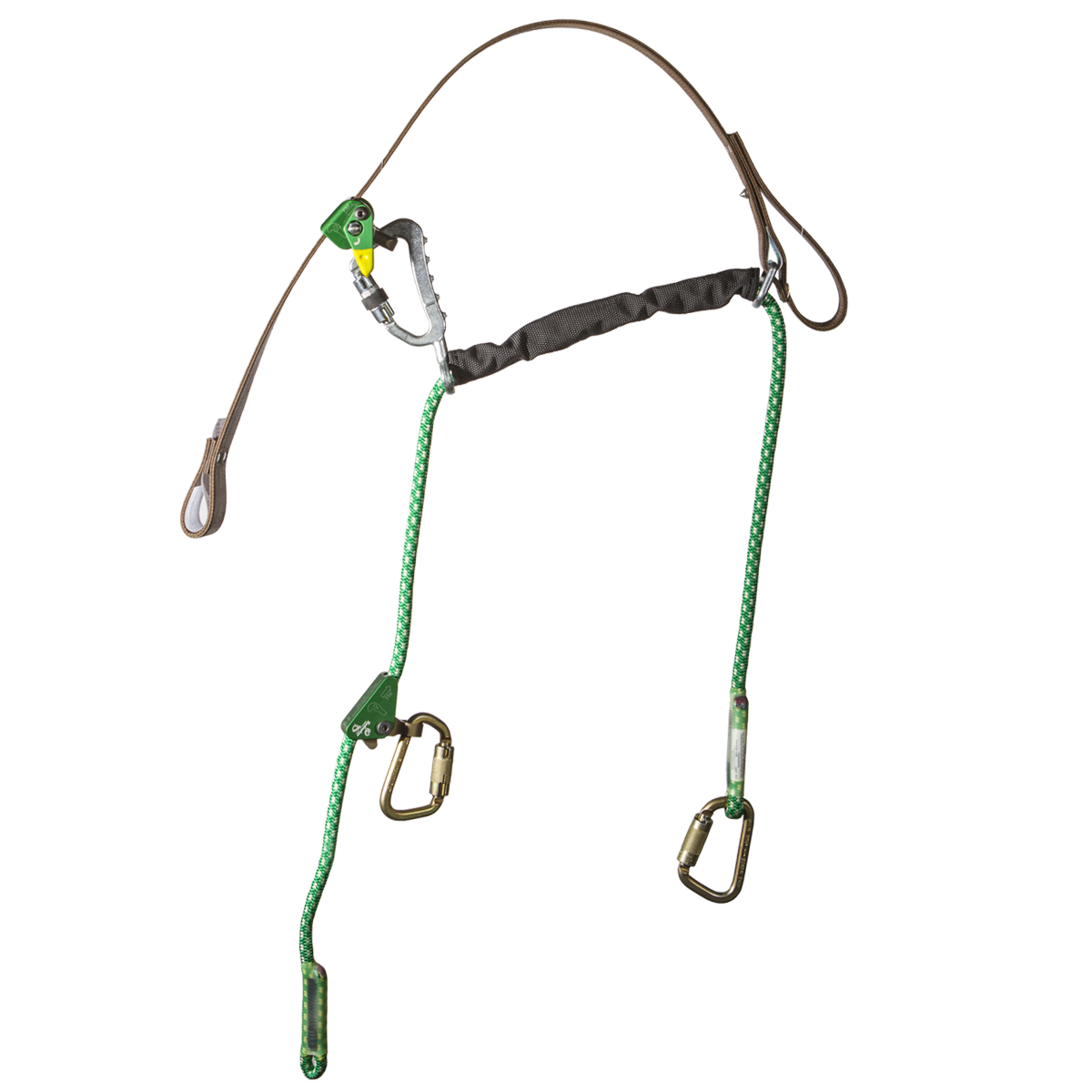 Buckingham's EZ Squeeze Fall Protection with Rope Inner