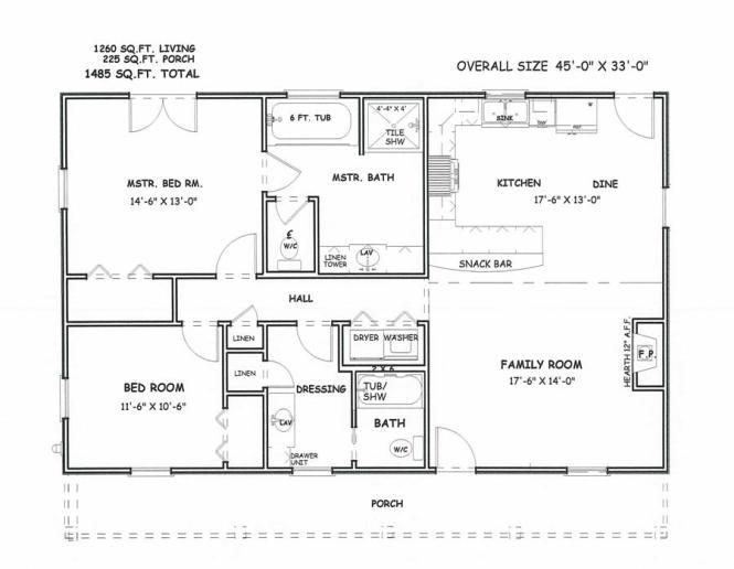 Home Built By American South Builders Floor Plan Plans Inn