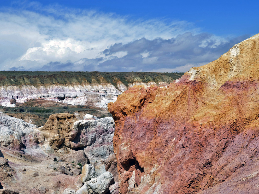 Paint Mines Interpretive Park Calhan Colorado
