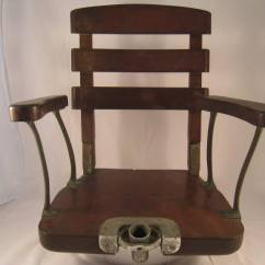 Fishing Chair Gimbal Crate And Barrel Petrie Tackle Edward Vom Hofe Fighting Chairs 2 Circa 1930 S With Bronze Hardware German Nickel