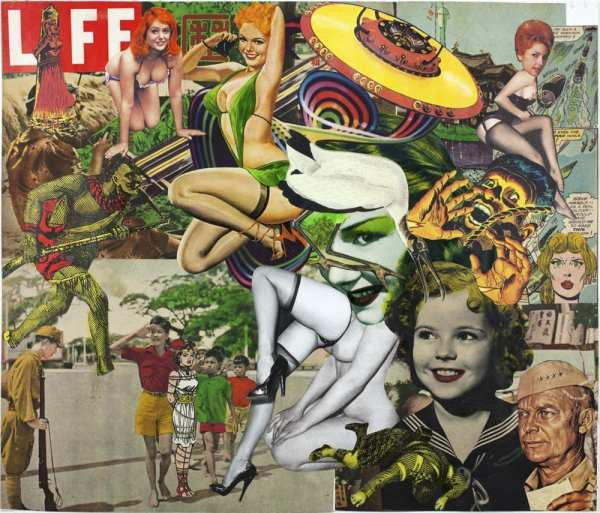 Keiichi Tanaami Pop Art American Suburb X
