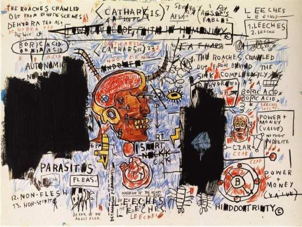 "Jean-michel Basquiat - ""paintings"" American Suburb X"