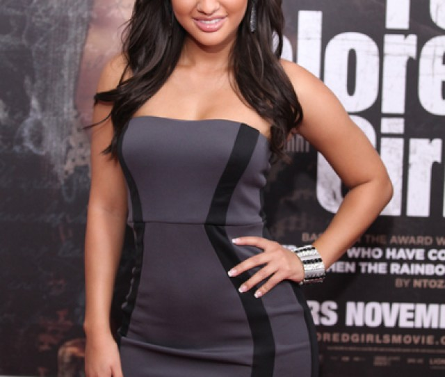 Francia Raisa Hot Style Pictures For Colored Girls New York Movie Premiere Photos And Pics
