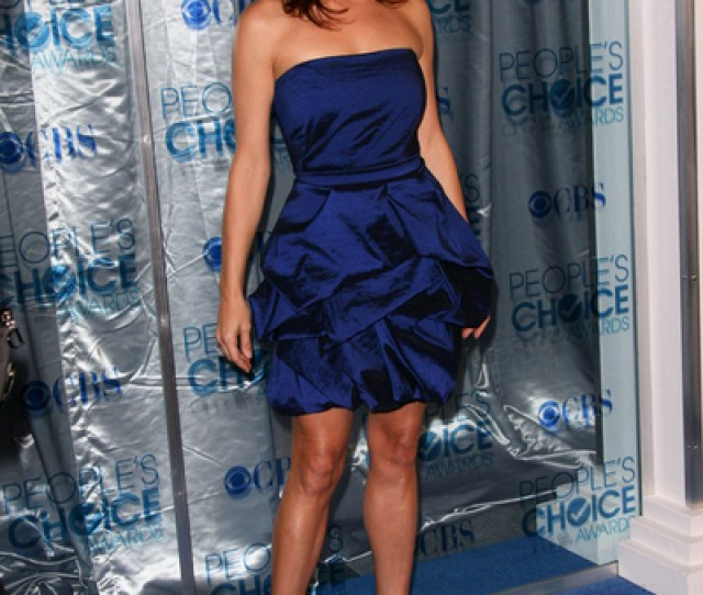 Kate Walsh Hot Style Pictures Peoples Choice Awards 2011 Red Carpet Photos And Pics