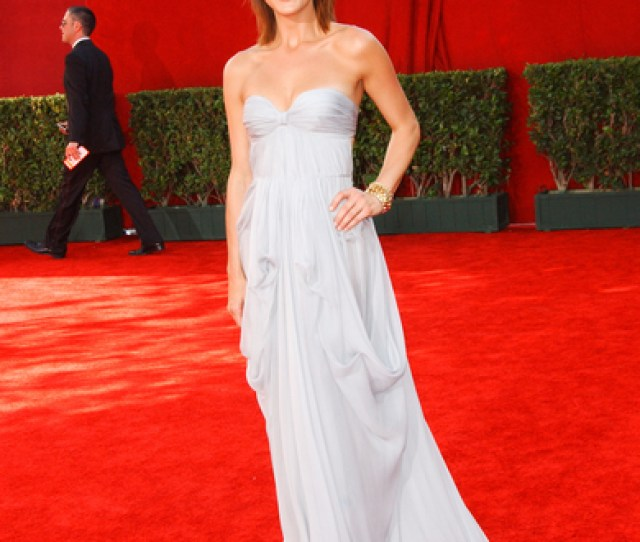 Kate Walsh Hot Style Pictures Primetime Emmy Awards 2009 Red Carpet Photos