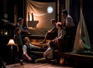 """""""The Old Man and the Old Moon"""" at Writers Theatre in Chicago. (Photo by Liz Lauren)"""