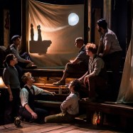 """The Old Man and the Old Moon"" at Writers Theatre in Chicago. (Photo by Liz Lauren)"