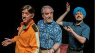 """""""The Fabulous Lipitones,"""" running at Taproot Theatre in Seattle through Oct. 18; with Jeff Berryman, John Patrick Lowrie, and Brad Walker"""