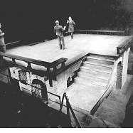 """Hamlet,"" Arena Stage, 1978, production photograph"