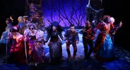 "The cast of ""Into the Woods"" at Lyric Stage in Boston. (Photo by Mark S. Howard)"