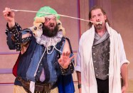 """""""La Bete"""" by David Hirson, running at the Arden Theatre Company in Philadelphia through Oct. 12; with Ian Merrill Peakes and Scott Greer (photo by Mark Garvin)"""
