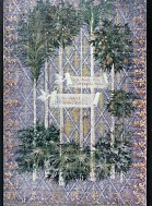 """""""The Merchant of Venice,"""" Color elevation for the tapestry for the Belmont scene."""