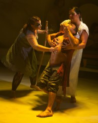 A scene from SPIRIT, a piece conceived and directed by Bonnie Cullum, running at the VORTEX in Austin, Tex. through Oct. 4