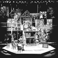 """Volpone,"" Mark Taper Forum, 1972, photograph"