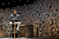"""How I Learned What I Learned"" by August Wilson and Todd Kreidler, at Kenny Leon's True Colors Theatre Company in Atlanta through Nov. 2; pictured: Eugene Lee (photo by Josh Lamkin)"