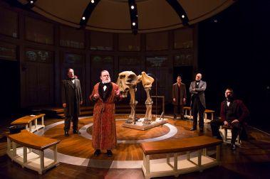 """Ether Dome"" by Elizabeth Egloff, at Huntington Theatre Company in Boston through Nov. 23; photo by T. Charles Erickson"