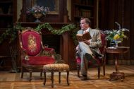 """""""Harvey"""" by Mary Chase, running at Milwaukee Repertory Theater through Dec. 21. Pictured: Jonathan Gillard Daly. (Photo by Michael Brosilow)"""