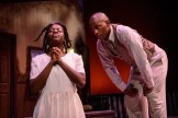"""""""The Bluest Eye,"""" adapted from Toni Morrison's novel by Lydia Diamond, at Cape Fear Regional Theatre in Fayetteville, N.C. through Nov. 16; pictured: Kenya Alexander and Deon Reteford-Lee (photo by Andrew Craft)"""