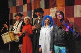 """Christmas City Follies"" at Touchstone Theatre in Bethlehem, Pa. through Dec. 21."