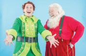 """""""Elf"""" by Thomas Meehan, Bob Martin, Matthew Sklar and Chad Beguelin, at Arkansas Repertory Theatre in Little Rock, Ark. through Jan. 4. Pictured: Ethan Paulini and J.B. Adams."""