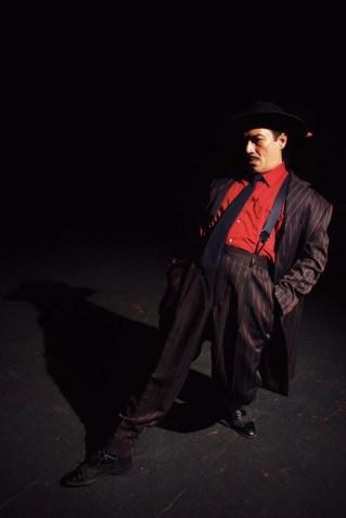 """Zoot Suit"" by Luis Valdez, at Cara Mia Theatre Company in Dallas, Tex. through Dec. 20. Pictured: Rodney Garza."