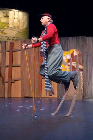 """Snowflake,"" written and performed by Gale LaJoye, at Children's Theatre Company in Minneapolis through Feb. 22."