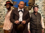 """The Whipping Man"" by Matthew Lopez, at Nashville Repertory Theatre through Feb. 21. Pictured: James Rudolph, left, Eddie George and Matthew Rosenbaum. (Photo by Justin Sienkiewicz)"