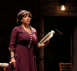 """""""Trouble in Mind"""" by Alice Childress, at Playmakers Repertory Company in Chapel Hill, N.C., through Feb. 8. Pictured: Kathryn Hunter-Williams. (Photo by Jon Gardiner)"""
