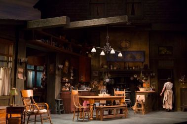 """MacKenzie Meehan in """"The Second Girl"""" at Huntington Theatre Company. (Photo by T. Charles Erickson)"""