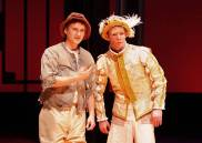 """""""The Prince and the Pauper,"""" adapted by Jonathan Bolt from Mark Twain, in 2015. Pictured: Jeremy Lelliott and Doug Harvey in 2015. (Photo by Ed Krieger)"""