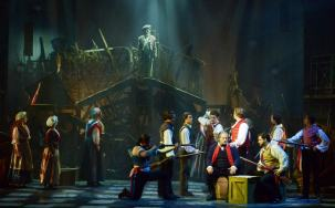 """Les Miserables""---from Claude-Michel Schönberg, Alain Boublil, Jean-Marc Natel, and Herbert Kretzmer---playing at Maltz Jupiter Theater in Jupiter, Fla. March 10--April 5. (Photo by Alicia Donelan)"