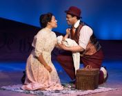 """""""Ragtime"""" by Lynn Ahrens, Stephen Flaherty and Terrence McNally, from the novel by E.L. Doctorow, at Bristol Riverside Theatre in Bristol, Pa., through Apr. 12. Pictured: Ciji Prosser and Derrick Cobey."""