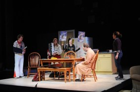 """""""End Days"""" by Deborah Zoe Laufer at Penobscot Theatre Company in Bangor, Maine, through March 29. (Photo by Magnus Stark 
