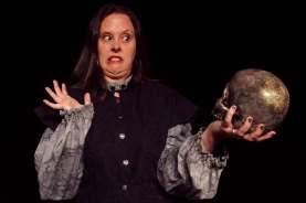 """Women Playing Hamlet"" by William Missouri Downs at Gamut Theatre Group in Harrisburg, Penn. through March 29. Pictured: Tara Herweg."