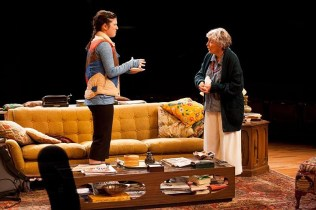 """""""4000 Miles"""" by Amy Herzog, at Actors Theatre of Louisville in Louisville, Ky. through Jan. 31. Pictured: Justine Salata and Dee Maaske. (Photo by Bill Brymer)"""