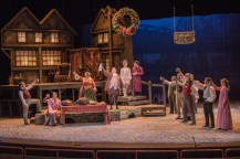 """""""A Christmas Carol"""" adapted by Arlitia Jones and Michael Haney from Dickens, at Perserverance Theatre in Anchorage, Alaska, through Dec. 27."""