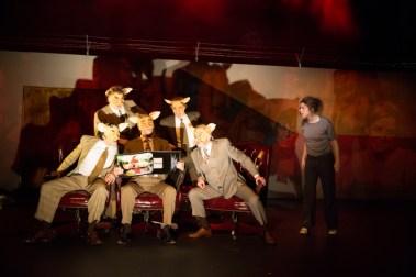 """Adapt!"" by Blanka Zizka, at the Wilma Theater in Philadelphia through April 22. (Photo by Alexander Iziliaev)"