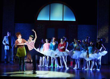 """Billy Elliot the Musical"" by Elton John and Lee Hall, at Maltz Jupiter Theatre in Jupiter, Fla., through Dec. 20. (Photo by Alicia Donelan)"